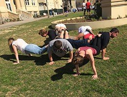 Group Push Up