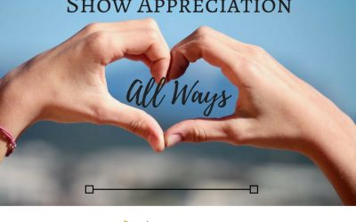 How To: Show Appreciation All Ways
