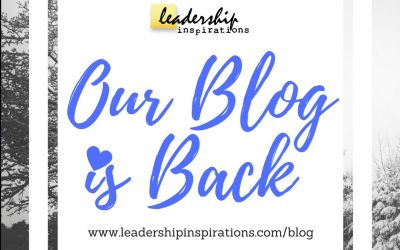 Our Blog is Back!