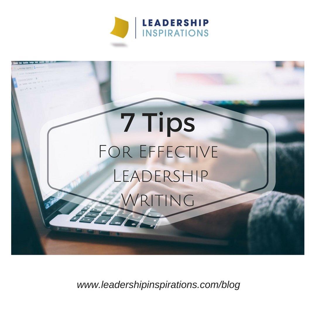 7TipsForEffectiveLeadershipWriting