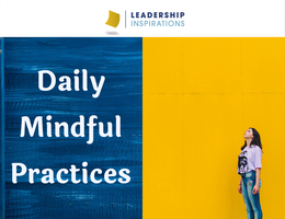 Daily Mindful Practices