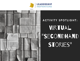 "Activity Spotlight: Virtual ""Secondhand Stories"""