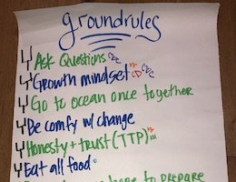 Ground Rules Check In