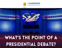 What's the Point of a Presidential Debate?