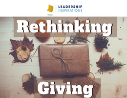 Rethinking Giving