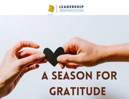 A Season for Gratitude