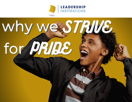 Why we Strive for Pride